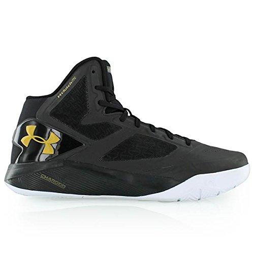 Under Armour de los hombres ClutchFit Drive II Basketball Shoes UK 10 (Euro 45) Black-006