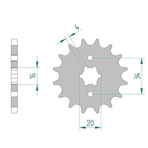 ritzel-21200-14-428-beta-m4-125-sm-2006-2009-derbi-senda-yam-motor-2004-20-malaguti-x3m-enduro-speic