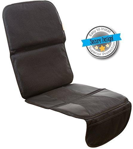 Zohzo Premium Autositzschoner mit Aufbewahrungstaschen - Hochwertige Auto-Sitzauflage auch als Kindersitzunterlage perfekt geeignet - Schonbezug für Autositze - Autositzbezüge