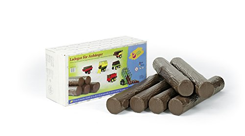 *rolly toys FS 409663 – Baumstämme, Kunststoff, 6 Stück*