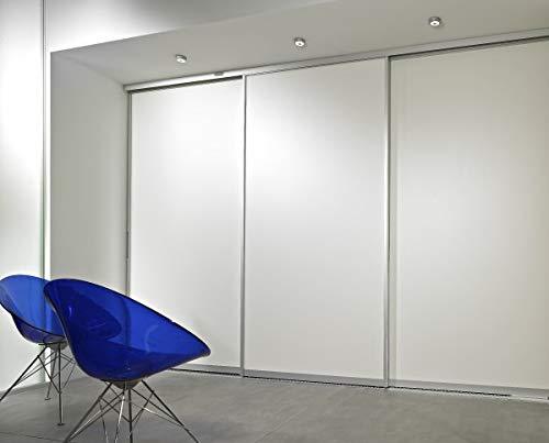 Schiebetüranlage Classic im Wunschmaß bis 3300 mm lichte Breite und 2750 mm lichte Höhe 3-flüglig Dekorfüllung