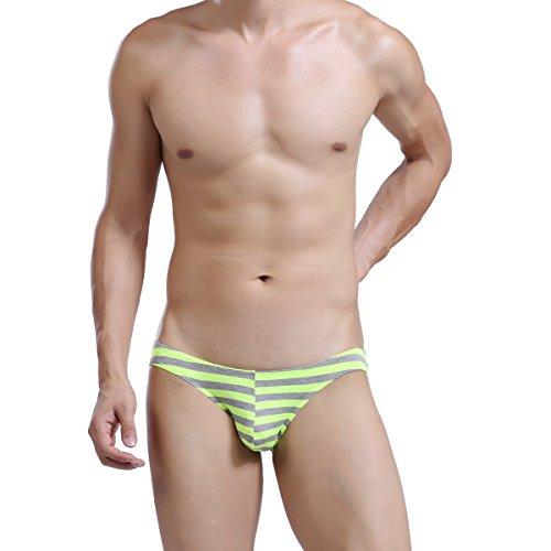 Herren Bikini Slips Unterwäsche Low Rise Strings Shorts Pants Unterhosen 5er Pack 5-Stück Slips