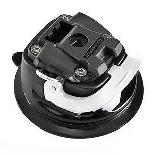 ROKK Mini Hardcore Saugnapf Mount System, schwarz/weiß, Einheitsgröße -