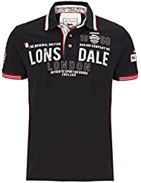 Lonsdale Mens Polo Shirt Sellindge