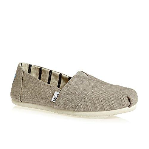 TOMS Alpargata Womens Slip On Shoes EUR 37.5 Morning Dove