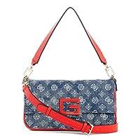 GUESS Womens Handbag, Denim/Multicolour - DP758019