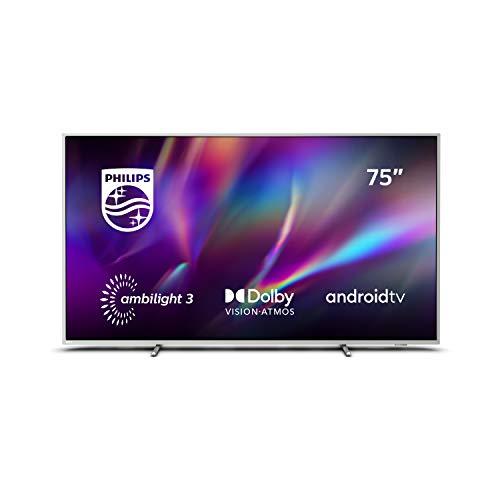 """Oferta de Philips Ambilight 75PUS8505/12 - Televisor Smart TV de 75"""", Android TV Control por Voz con IA, Alexa Integrado, Procesador P5 Picture Engine, HDR 10+, Dolby Vision, Dolby Atmos"""