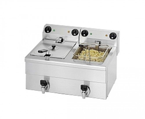 Saro 172-2083 Fritteuse Modell FE 102, 20 L, 6500 W