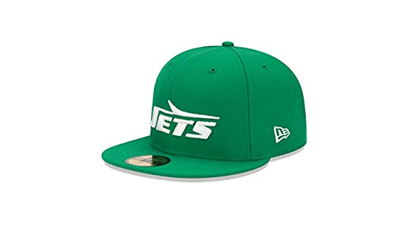 official photos 49f64 52753 New Era New York Jets Historic Basic 59FIFTY Fitted NFL Cap (7 5 8)   Amazon.co.uk  Sports   Outdoors