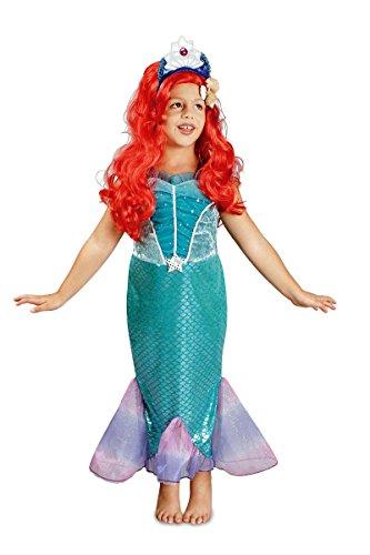 K31250600-98-104 Kinder Meerjungfrau Kostüm Wassernixe Nixe Gr.98-104