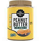 The Butternut Co. Peanut Butter Unsweetened, Crunchy 1KG (No Added Sugar, Vegan, High Protein, Keto)