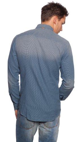 BOSS orange chemise pour homme emotionE 50259381 Bleu - Dunkelblau/Navy 402