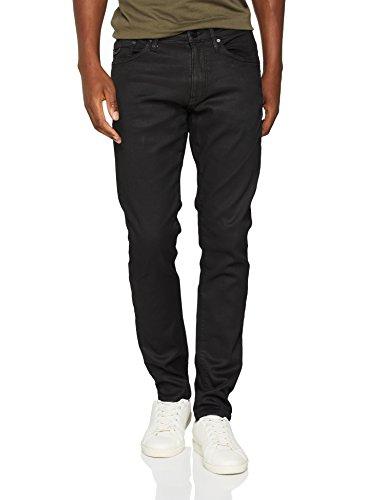 Mavi Herren Skinny Jeans James, Schwarz (Coated Smoke Sporty Black 26749), W29/L32 Preisvergleich
