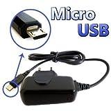 PCMOVILES -- Compatible Micro Usb Cargador de bateria de casa Para Huawei ascend P1 u9200
