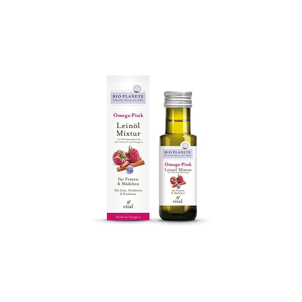 Bio Planete Bio Omega Pink Leinl Mixtur 1 X 100 Ml