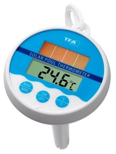Pool-Thermometer 30.1041 mit Solarstromversorgung