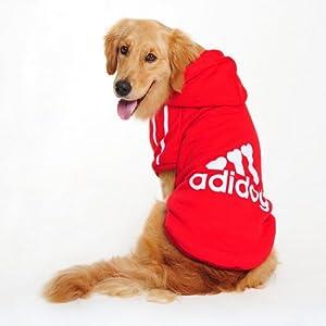 Manteau / Vêtement Hoodie pour les grands chiens Adidog