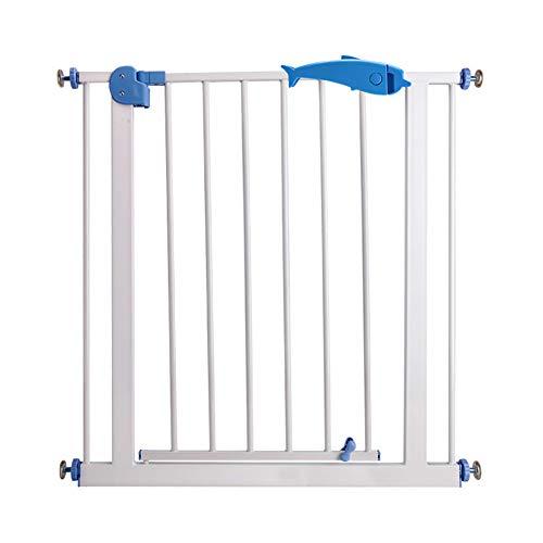Tu-Bed Rails NAUY@ Puerta de Seguridad Barandilla de la Escalera del bebé Valla Protectora Cocina Aseo Aislamiento Puerta Mascota Vallado para Perros