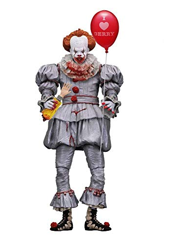 (Stephen Kings - Es 2017 - Actionfigur - Ultimate - Pennywise Clown - I Heart Derry - 18 cm)