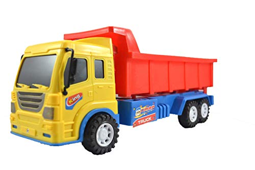 Breno Dump Truck Toys for Kids, Dumper Truck Toy, Push and Go Toy for Kids, Dumping Truck Toys