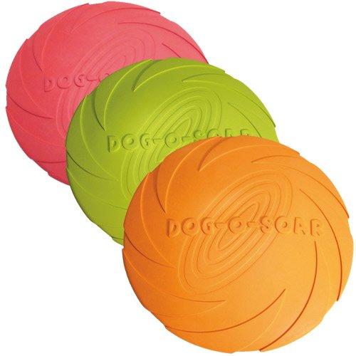 Trixie Dog Disc, schwimmend Naturgummi, ø 22 cm (farblich sortier) - 2