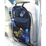 JEEJEX Car Seat Back Organizer  BQLS87  Multi Pocket Storage Bag Multi Pocket Organizer Holder Hanger Accessory