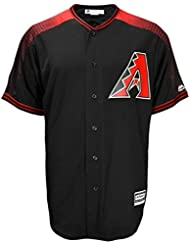 Majestic Arizona Diamondbacks MLB coolbase Maillot Alternate Noir
