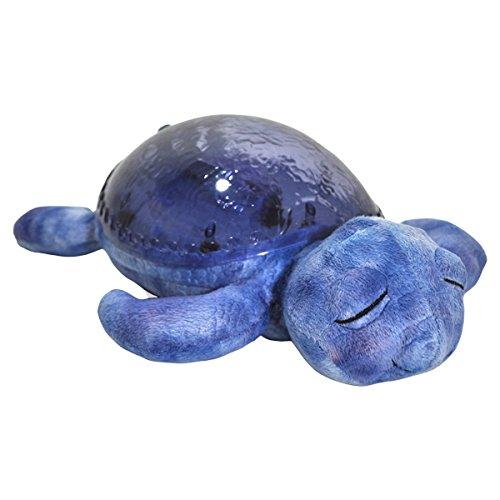 Cloud B 8723540084348 beruhigende Schildkröte Tranquil Turtle Purple mit Sound und Lichteffekt, violett - Violet Wand Beleuchtung
