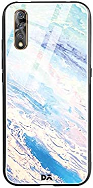 DailyObjects Marble Sky Glass Case Cover for Vivo S1