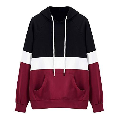 Luckycat Langärmliges Hoodie-Pullover der Frauen Gestreiftes Bauchfreies Top Sweatshirt Mode 2018