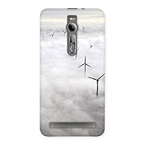 Neo World Cloud Chimes Back Case Cover for Asus Zenfone 2