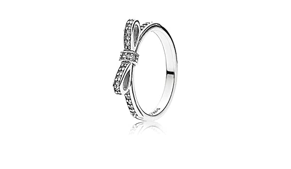 anello pandora con fiocchetto