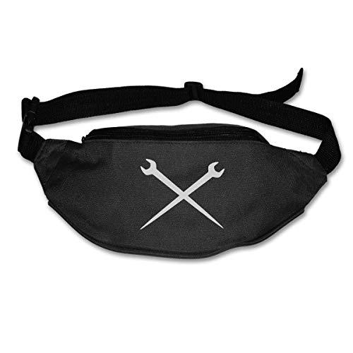Ironworker Crossed Tools Runner's Pack Mens & Womens Unisex Climbing  Fashion Style Waist-Bag