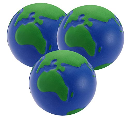 3 x Globe de stress