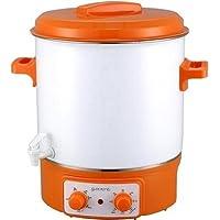 Guzzanti GZ 183 - Olla a presión (Naranja, Color blanco)
