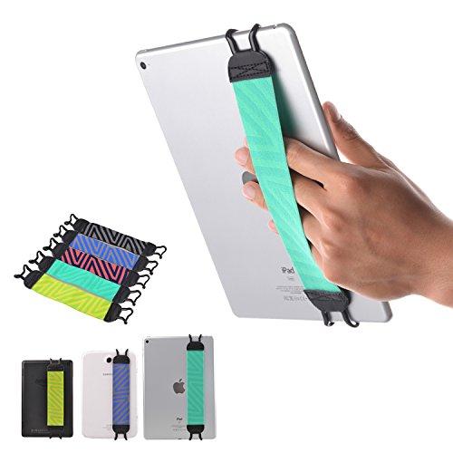 TFY Elastisches Halteband für Tablet Smartphone eReader - New iPad (2/3/4) / iPad Mini & Mini 2 & Mini 3 / iPad Air / iPad Air 2 / iPad Pro 9.7