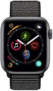 Apple Watch Series 4-44mm Space Gray Aluminum Case with Black Sport Loop, GPS, watchOS 5