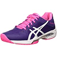 Asics Gel-Solution Speed 3 W, Chaussures de Tennis Femme, Rose