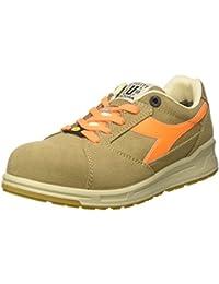 Diadora Run Textile Esd Low S1p, Chaussures de travail mixte adulte, Gris (Grigio Castello/grigio Alluminio), 48 EU