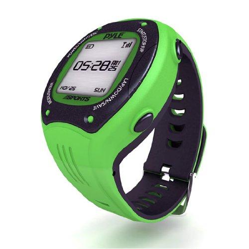 Pyle PSGP410GN - Reloj deportivo GPS, color verde