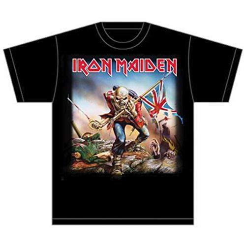Collectors Mine Herren T-Shirt Iron Maiden-Trooper, Gr. 52 (XL), Schwarz (Schwarz) -