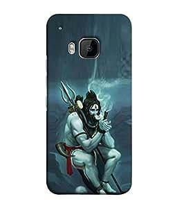 FUSON Designer Back Case Cover for HTC One M9 :: HTC One M9S :: HTC M9 (God Religion Aashutosh Bhairav Bholenath Dayalu Devadeva Girijapati)