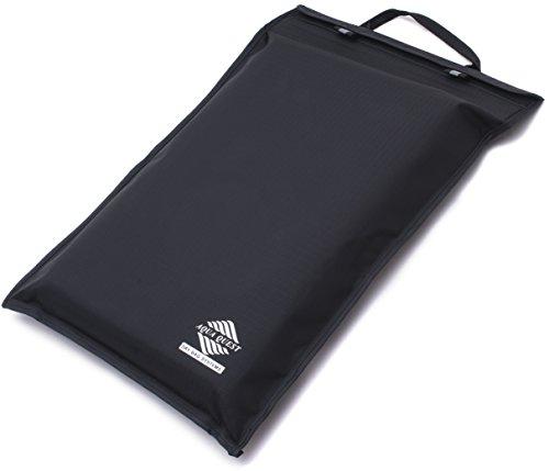Aqua Quest Storm Laptop Tasche - 100% Wasserdicht - 11 inch, 13 inch, 15 inch, 17 inch - Schwarz oder Rot (13 inch, Schwarz)