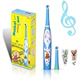 Oral Care Kids Musical Oscillating Toothbrush RST2206 (Blue)