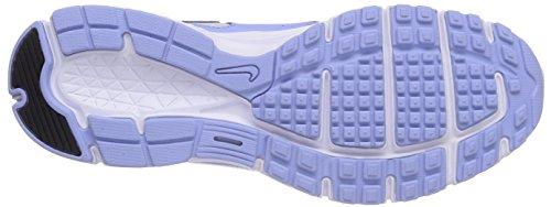 Nike - Revolution EU, Scarpe da corsa da donna Blu (Aluminum/White-Bright Crimson 400)