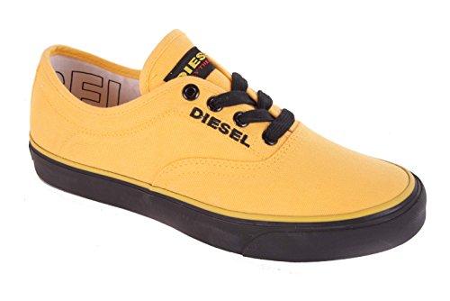 Diesel Donna Sneaker con lacci scarpe gialle 28 - Giallo sole, 36
