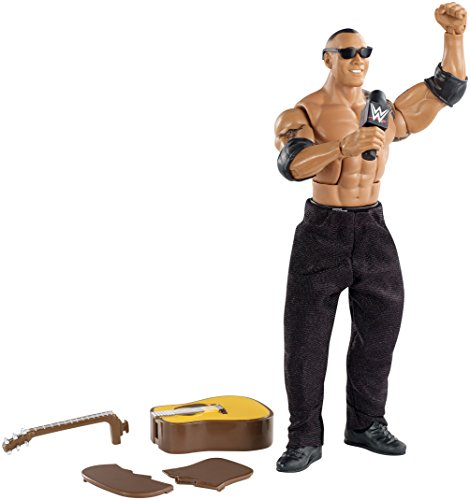 WWE the Rock Figur Elite 31 Serie