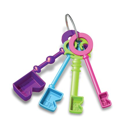 DCI Key Ingredients Key Shaped Measuring Spoons