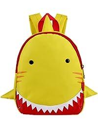 Preisvergleich für PENGYUE Kinderrucksack Kindergartenrucksack Kinder Rucksack Haifischform Lässig Niedlicher Karikatur Baby Backpack...