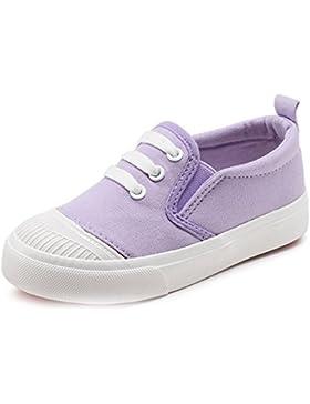 Unisex-Kinder Sneaker Schuhe Jungen Mädchen Canvas